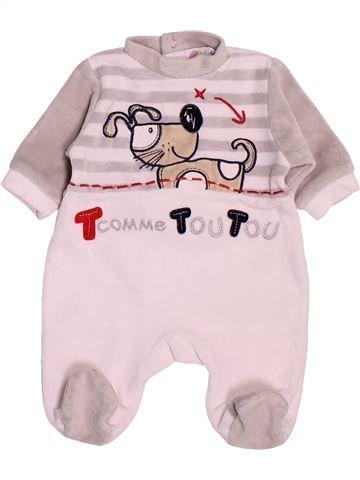 Pyjama 1 pièce garçon 3 SUISSES violet naissance hiver #1538518_1