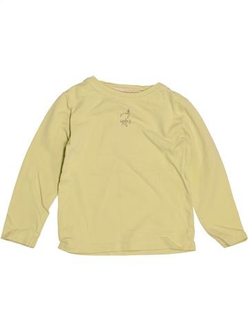Camiseta de manga larga niña OKAIDI beige 2 años invierno #1538623_1