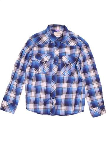 Chemise manches longues garçon RIVER ISLAND bleu 7 ans hiver #1538869_1