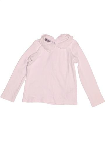 Polo manches longues fille NEXT blanc 3 ans hiver #1539099_1