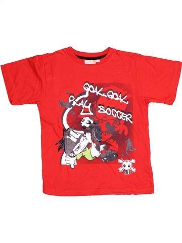 T-shirt manches courtes garçon BERTI rouge 6 ans été #1539241_1