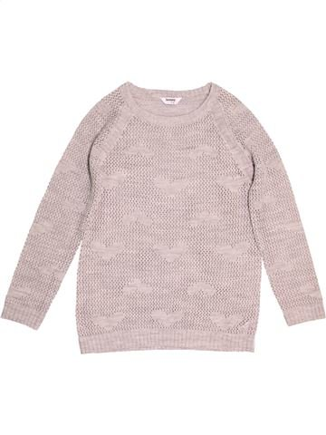 Pull fille TAMMY rose 13 ans hiver #1539272_1