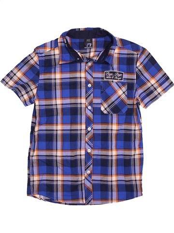 Chemise manches courtes garçon DOGNOSE violet 12 ans été #1539371_1
