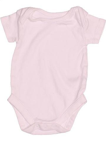 Camiseta de manga corta unisex NUTMEG rosa 3 meses verano #1539493_1