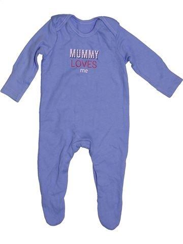 Pijama de 1 pieza niño GEORGE azul 3 meses verano #1539838_1