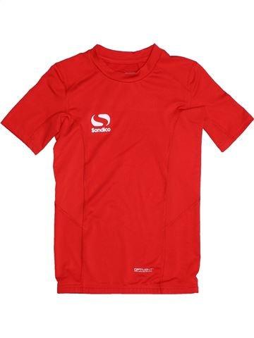 Ropa deportiva niño SONDICO rojo 10 años verano #1539872_1