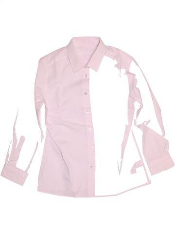 Camisa de manga larga niño F&F rosa 11 años invierno #1539901_1