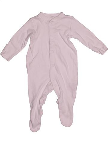 Pyjama 1 pièce unisexe MOTHERCARE rose 1 mois été #1539917_1
