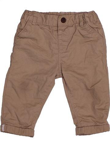 Pantalón niño MARKS & SPENCER marrón 9 meses invierno #1539921_1
