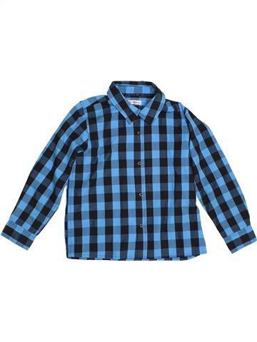 Camisa de manga larga niño MARKS & SPENCER azul 7 años invierno #1539924_1