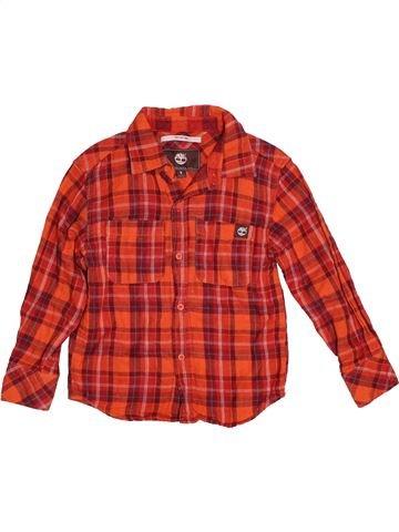 Camisa de manga larga niño SANS MARQUE rojo 5 años invierno #1539968_1