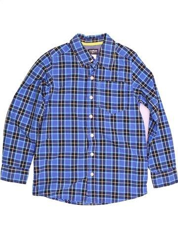 Chemise manches longues garçon OSH KOCH B'GOSH bleu 10 ans hiver #1540012_1