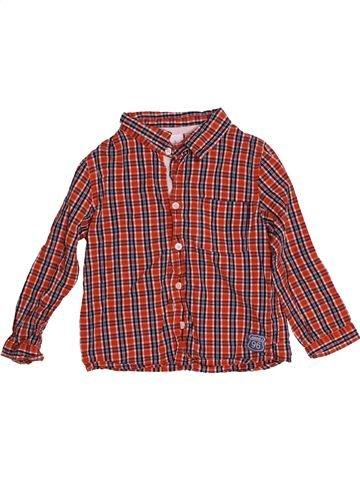 Chemise manches longues garçon JASPER CONRAN marron 2 ans hiver #1540539_1