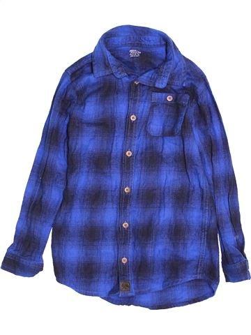 Chemise manches longues garçon F&F bleu 7 ans hiver #1541123_1