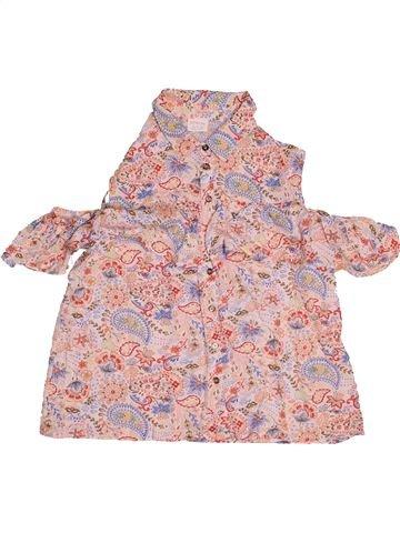 Blusa de manga corta niña F&F rosa 13 años verano #1541367_1