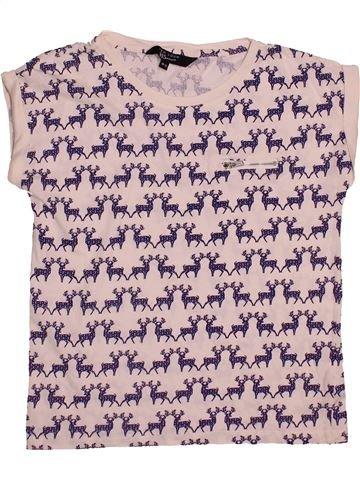 T-shirt manches courtes fille NEW LOOK rose 15 ans été #1541645_1
