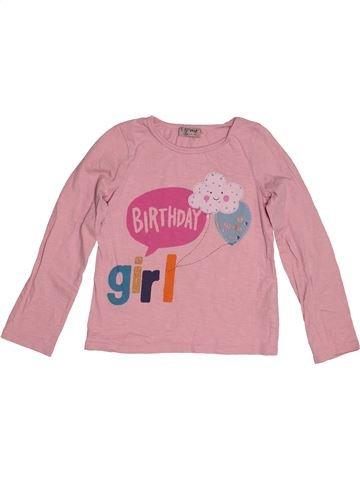 Camiseta de manga larga niña NEXT rosa 6 años invierno #1541898_1