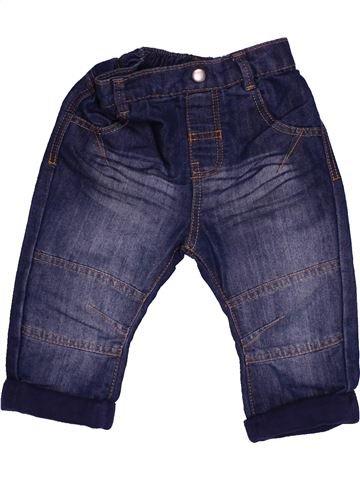 Pantalón niño GEORGE azul 9 meses verano #1541936_1