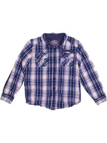 Camisa de manga larga niño F&F violeta 7 años invierno #1542213_1