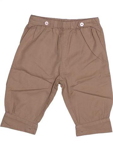 Pantalon fille DPAM beige 6 mois été #1542533_1