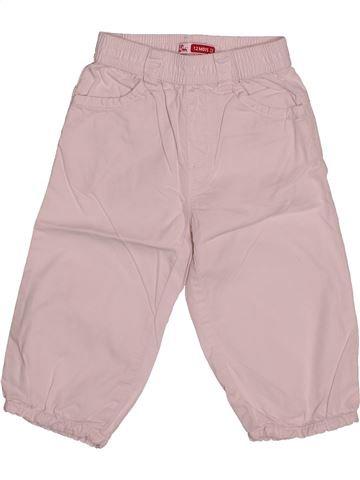 Pantalon fille DPAM rose 12 mois été #1542538_1