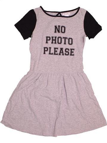 Vestido niña LA REDOUTE gris 13 años verano #1542628_1