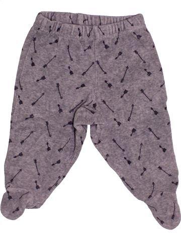 Pantalon garçon TAPE À L'OEIL gris 9 mois hiver #1542784_1