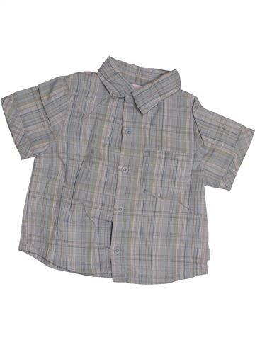Camisa de manga corta niño OKAIDI gris 12 meses verano #1542834_1