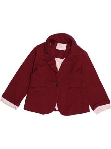 Veste fille ZARA rouge 4 ans hiver #1542942_1