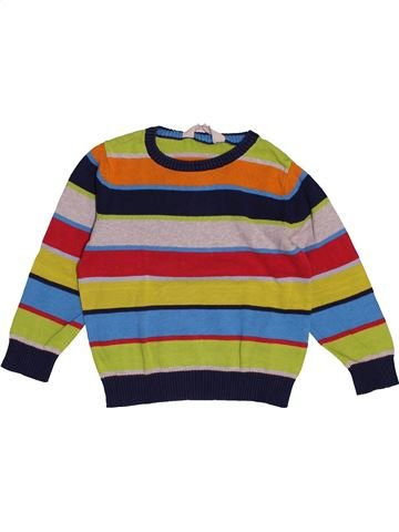 Pull garçon H&M marron 4 ans hiver #1543049_1
