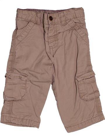 Pantalon garçon BOUT'CHOU beige 9 mois hiver #1543436_1