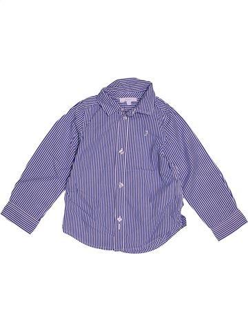 Camisa de manga larga niño JACADI azul 3 años invierno #1543515_1