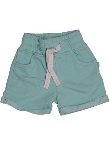 Short - Bermuda fille OKAIDI bleu 3 mois été #1543547_1