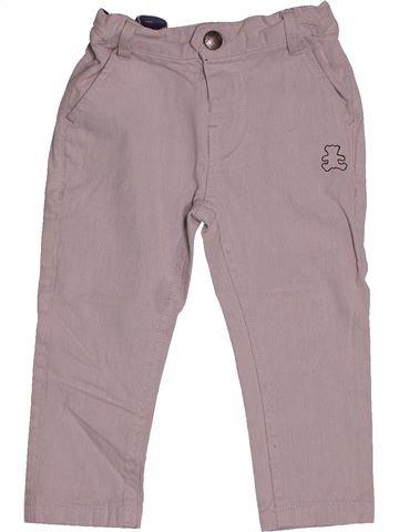Pantalon garçon LULU CASTAGNETTE gris 2 ans hiver #1543676_1