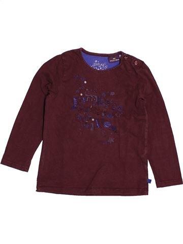 T-shirt manches longues fille SERGENT MAJOR marron 5 ans hiver #1543816_1