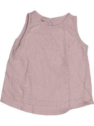 T-shirt sans manches fille VERTBAUDET gris 2 ans été #1543906_1