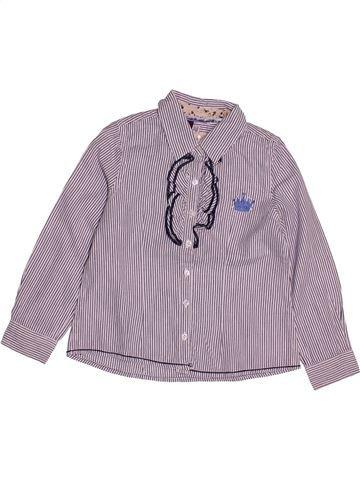 Blouse manches longues fille SERGENT MAJOR violet 4 ans hiver #1543975_1