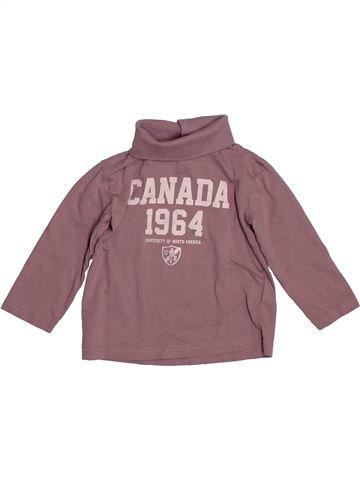 T-shirt manches longues garçon VERTBAUDET marron 3 ans hiver #1544148_1