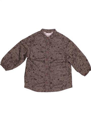 Chemise manches longues garçon TAPE À L'OEIL marron 3 ans été #1544221_1