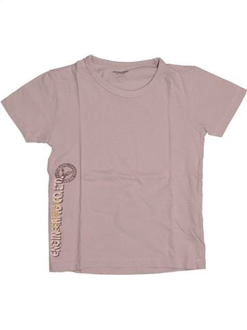 Camiseta de manga corta niño VERTBAUDET beige 8 años verano #1544267_1
