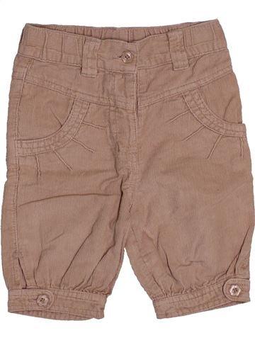 Pantalon fille 3 SUISSES beige 18 mois hiver #1544605_1