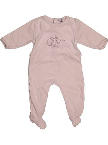 Pyjama 1 pièce unisexe DPAM rose 9 mois hiver #1544652_1