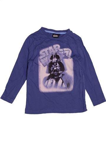 T-shirt manches longues garçon STAR WARS bleu 4 ans hiver #1545732_1