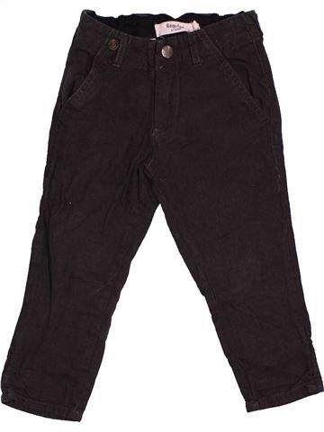 Pantalon garçon LINDEX noir 2 ans hiver #1545820_1