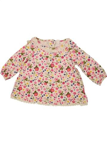 T-shirt manches longues fille BABALUNO rose 9 mois hiver #1546080_1