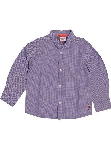 Chemise manches longues garçon TAPE À L'OEIL gris 3 ans hiver #1546374_1
