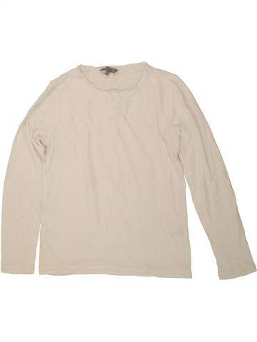 Camiseta de manga larga niño JBC beige 10 años invierno #1546744_1
