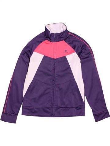 Ropa deportiva niña DOMYOS violeta 10 años invierno #1547228_1