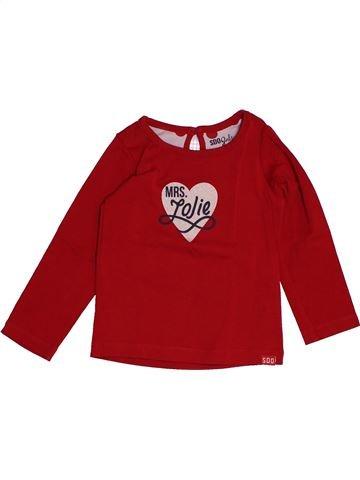 T-shirt manches longues fille SUCRE D'ORGE marron 3 ans hiver #1547471_1