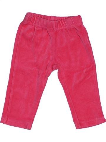 Pantalon fille IN EXTENSO rose 12 mois hiver #1547918_1